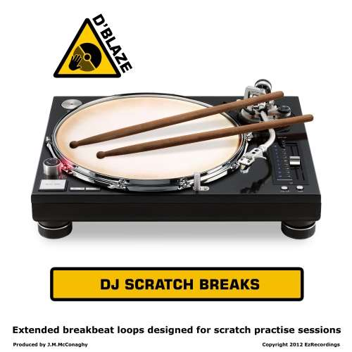D'Blaze - DJ Scratch Breaks Vol 1